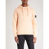 Overhead cotton-jersey hoody