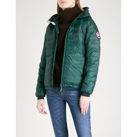 Camp hooded quilted jacket