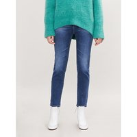 Isabelle straight high-rise jeans