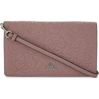 Tearose leather wallet-on-chain