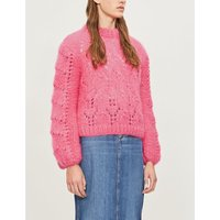 Julliard cable-knit mohair and wool-blend jumper