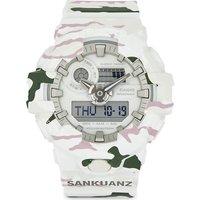 G-Shock Mens White/Pink/Green Practical Sankuanz Limted Edition Ga-700Skz Watch