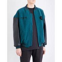 Season 5 Cali wool and leather bomber jacket