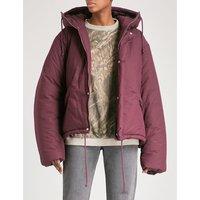 Season 5 cropped cotton puffer jacket