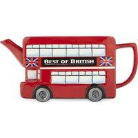 London Bus ceramic teapot