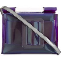Romeo iridescent PVC shoulder bag