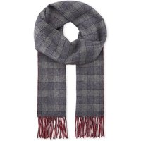 Reversible cashmere scarf