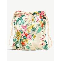 Paradiso patterned drawstring backpack
