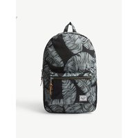 Settlement palm tree canvas backpack