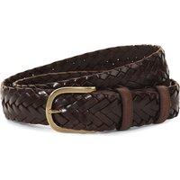 ELLIOT RHODES | Elliot Rhodes Leather woven belt, Mens | Goxip