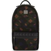 Dieter camo print backpack