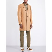 Ps By Paul Smith Camel Sophisticated Coat