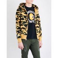 Ape-hood cotton-jersey hoody