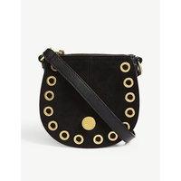 SEE BY CHLOE   Leather suede shoulder bag   Goxip