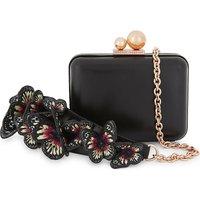 Vivi butterfly-embellished clutch bag