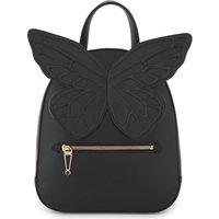 Kiko leather butterfly backpack
