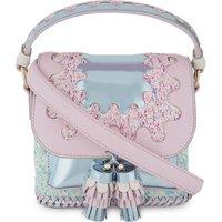 Sophia Webster Ladies Pink Round Feminine Claudie Wiggle Cross-Body Bag
