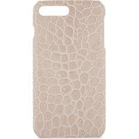 Croc-embossed leather iPhone 7 Plus/8 Plus case