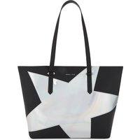 Izzy iridescent star leather tote