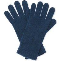 Johnstons Ladies Burgundy Solid Feminine Short Cuff Cashmere Gloves