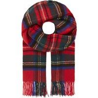 Tartan cashmere scarf