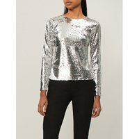 Judy sequinned top