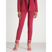 Henri cigarette cropped crepe trousers