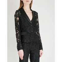 Luella single-breasted lace jacket