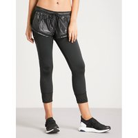 Performance Essentials shell and stretch-jersey tights