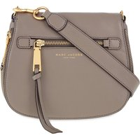 MARC JACOBS | Marc Jacobs Recruit small grained leather saddle bag | Goxip