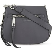 MARC JACOBS   Marc Jacobs Recruit small grained leather saddle bag   Goxip