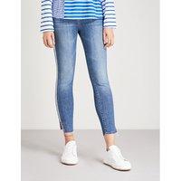 侧-条纹 苗条-适合 非常 枯瘦 牛仔裤