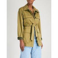 Lang reversible cotton jacket