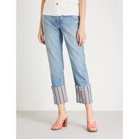 Helena skinny cropped high-rise jeans
