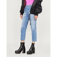 Aryel cropped ripped jeans