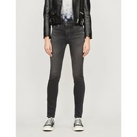 AG | Ag Ladies Innovative Modern The Farrah Skinny High-Rise Jeans | Goxip