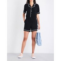 Juicy Soda woven playsuit