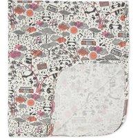 Panda print blanket
