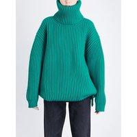 Turtleneck wool jumper