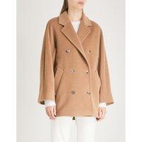 Gastone camel-hair coat