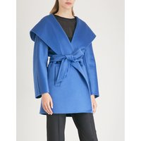 Valdese cashmere wrap coat