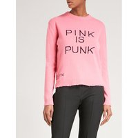 Pink is Punk knitted jumper