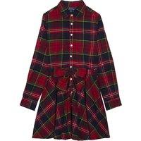 Tartan check shirt dress 2-16 years