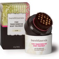 Bare Minerals Pure Transformation Night Treatment – clear, Clear
