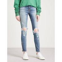 长尾鲛 苗条-适合 枯瘦 中-上升 牛仔裤