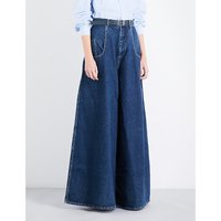 Wide Rave high-rise jeans