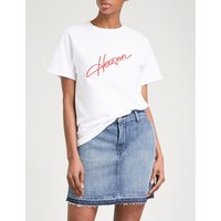 Heaven cotton-jersey T-shirt