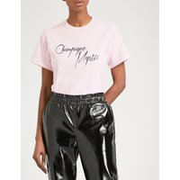 Champagne Mystic cotton-jersey T-shirt