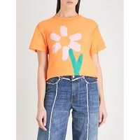 Slim Pickings cotton-jersey T-shirt