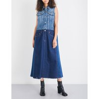 Oversized denim dress